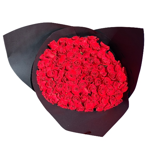 BOUQUET OF 100 ROSES